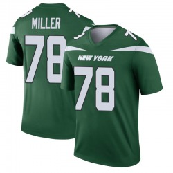 Legend Men's Wyatt Miller New York Jets Nike Player Jersey - Gotham Green