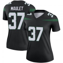 Legend Women's Arthur Maulet New York Jets Nike Color Rush Jersey - Stealth Black