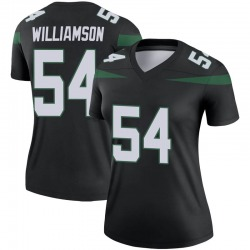 Legend Women's Avery Williamson New York Jets Nike Color Rush Jersey - Stealth Black