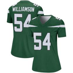 Legend Women's Avery Williamson New York Jets Nike Player Jersey - Gotham Green