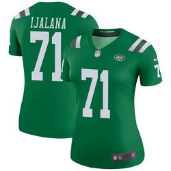 Legend Women's Ben Ijalana New York Jets Nike Color Rush Jersey - Green