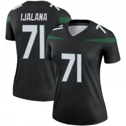 Legend Women's Ben Ijalana New York Jets Nike Color Rush Jersey - Stealth Black