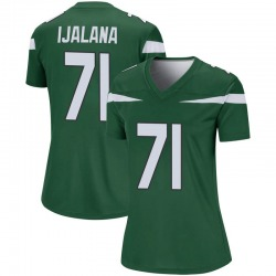 Legend Women's Ben Ijalana New York Jets Nike Player Jersey - Gotham Green