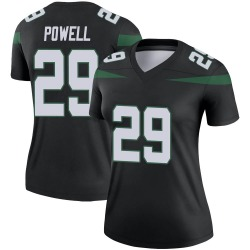 Legend Women's Bilal Powell New York Jets Nike Color Rush Jersey - Stealth Black