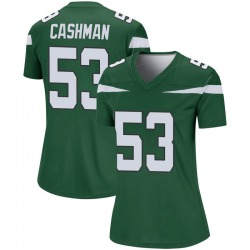 Legend Women's Blake Cashman New York Jets Nike Player Jersey - Gotham Green