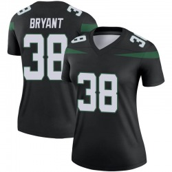 Legend Women's Brandon Bryant New York Jets Nike Color Rush Jersey - Stealth Black