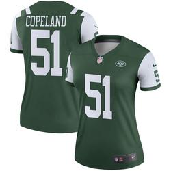 Legend Women's Brandon Copeland New York Jets Nike Jersey - Green