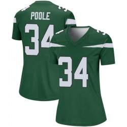 Legend Women's Brian Poole New York Jets Nike Player Jersey - Gotham Green