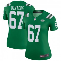 Legend Women's Brian Winters New York Jets Nike Color Rush Jersey - Green