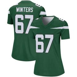 Legend Women's Brian Winters New York Jets Nike Player Jersey - Gotham Green
