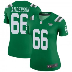 Legend Women's Calvin Anderson New York Jets Nike Color Rush Jersey - Green