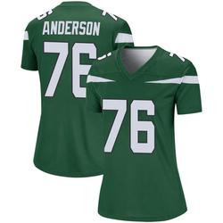 Legend Women's Calvin Anderson New York Jets Nike Player Jersey - Gotham Green