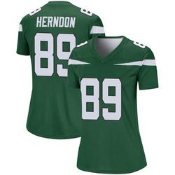 Legend Women's Chris Herndon New York Jets Nike Player Jersey - Gotham Green