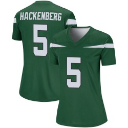 Legend Women's Christian Hackenberg New York Jets Nike Player Jersey - Gotham Green