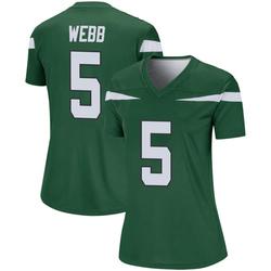 Legend Women's Davis Webb New York Jets Nike Player Jersey - Gotham Green