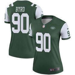 Legend Women's Dennis Byrd New York Jets Nike Jersey - Green