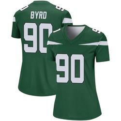 Legend Women's Dennis Byrd New York Jets Nike Player Jersey - Gotham Green