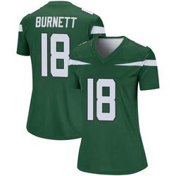 Legend Women's Deontay Burnett New York Jets Nike Player Jersey - Gotham Green