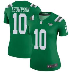 Legend Women's Deonte Thompson New York Jets Nike Color Rush Jersey - Green