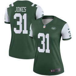 Legend Women's Derrick Jones New York Jets Nike Jersey - Green