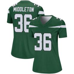 Legend Women's Doug Middleton New York Jets Nike Player Jersey - Gotham Green