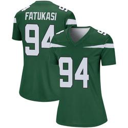 Legend Women's Folorunso Fatukasi New York Jets Nike Player Jersey - Gotham Green