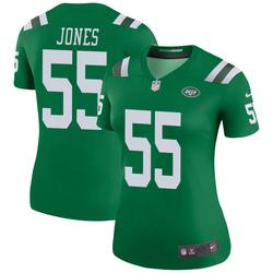 Legend Women's Fredrick Jones New York Jets Nike Color Rush Jersey - Green