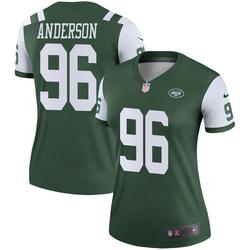 Legend Women's Henry Anderson New York Jets Nike Jersey - Green