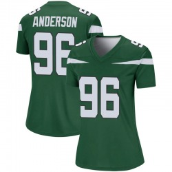 Legend Women's Henry Anderson New York Jets Nike Player Jersey - Gotham Green