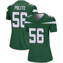 Legend Women's Jachai Polite New York Jets Nike Player Jersey - Gotham Green
