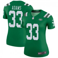 Legend Women's Jamal Adams New York Jets Nike Color Rush Jersey - Green