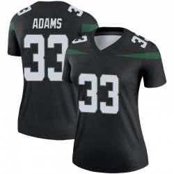 Legend Women's Jamal Adams New York Jets Nike Color Rush Jersey - Stealth Black