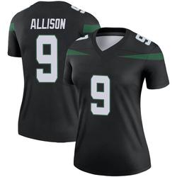 Legend Women's Jeff Allison New York Jets Nike Color Rush Jersey - Stealth Black