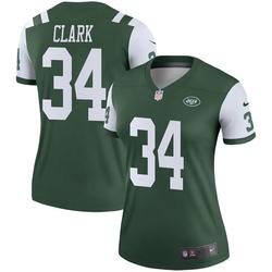 Legend Women's Jeremy Clark New York Jets Nike Jersey - Green