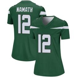 Legend Women's Joe Namath New York Jets Nike Player Jersey - Gotham Green