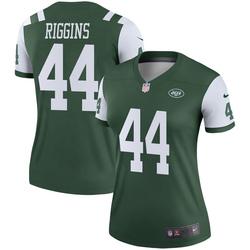 Legend Women's John Riggins New York Jets Nike Jersey - Green