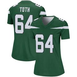 Legend Women's Jon Toth New York Jets Nike Player Jersey - Gotham Green