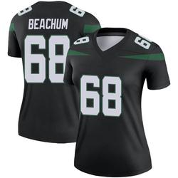 Legend Women's Kelvin Beachum New York Jets Nike Color Rush Jersey - Stealth Black