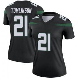 Legend Women's LaDainian Tomlinson New York Jets Nike Color Rush Jersey - Stealth Black