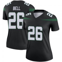 Legend Women's Le'Veon Bell New York Jets Nike Color Rush Jersey - Stealth Black