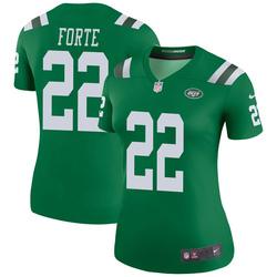 Legend Women's Matt Forte New York Jets Nike Color Rush Jersey - Green