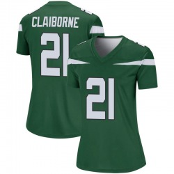 Legend Women's Morris Claiborne New York Jets Nike Player Jersey - Gotham Green