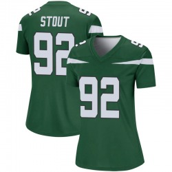 Legend Women's MyQuon Stout New York Jets Nike Player Jersey - Gotham Green