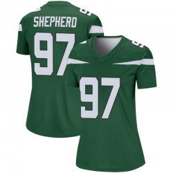 Legend Women's Nathan Shepherd New York Jets Nike Player Jersey - Gotham Green