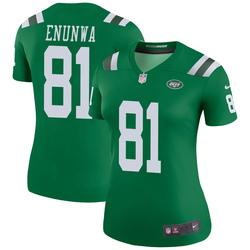Legend Women's Quincy Enunwa New York Jets Nike Color Rush Jersey - Green