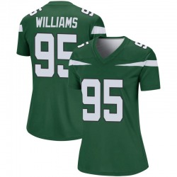 Legend Women's Quinnen Williams New York Jets Nike Player Jersey - Gotham Green