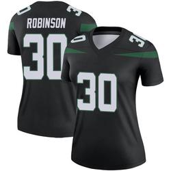 Legend Women's Rashard Robinson New York Jets Nike Color Rush Jersey - Stealth Black
