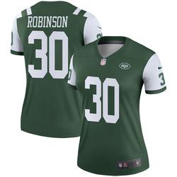 Legend Women's Rashard Robinson New York Jets Nike Jersey - Green