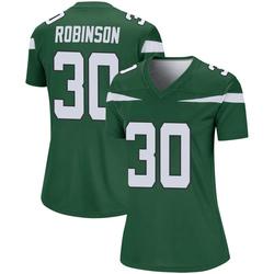 Legend Women's Rashard Robinson New York Jets Nike Player Jersey - Gotham Green