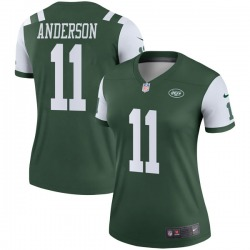 Legend Women's Robby Anderson New York Jets Nike Jersey - Green